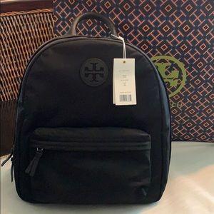 NWT Authentic Tory Burch Nylon Ella Backpack